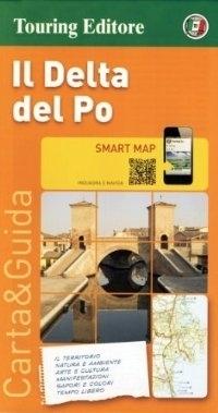 DELTA RZEKI PAD - IL DELTA DEL PO mapa turystyczna 1:200 000 TOURING EDITORE