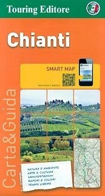 CHIANTI FLORENCJA SIENA I OKOLICE (TOSKANIA) mapa turystyczna 1:175 000 TOURING EDITORE