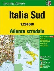 WŁOCHY POŁUDNIOWE atlas samochodowy 1:200 000 TOURING EDITORE