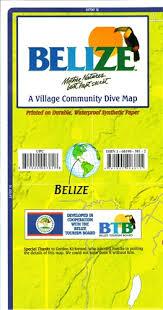 BELIZE mapa wodoodporna FRANCO