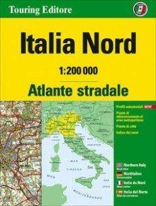 WŁOCHY PÓŁNOCNE atlas samochodowy 1:200 000 TOURING EDITORE