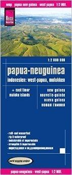 PAPUA NOWA GWINEA INDONEZJA mapa 1:2 000 000 RKH 2015
