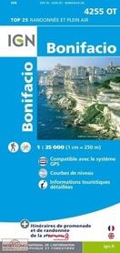 BONIFACIO GPS mapa turystyczna 1:25 000 IGN 4255OT