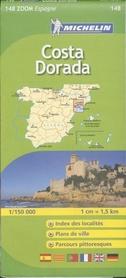 148 COSTA DORADA mapa samochodowa 1:150 000 MICHELIN