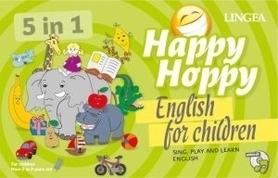 Happy Hoppy. Gry i zabawy z angielskim dla dzieci LINGEA
