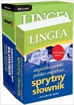 Angielsko-polski i polsko-angielski Sprytny słownik z Lexiconem na CD (książka wraz z CD) LINGEA