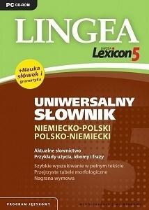 Lexicon 5 Uniwersalny słownik niemiecko-polski i polsko-niemiecki LINGEA