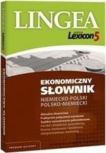 Lexicon 5 Ekonomiczny słownik niemiecko-polski i polsko-niemiecki LINGEA