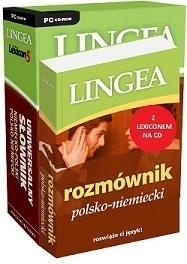Rozmównik polsko – niemiecki z Lexiconem na CD LINGEA