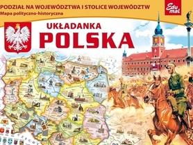 POLSKA puzzle układanka EDUMAL