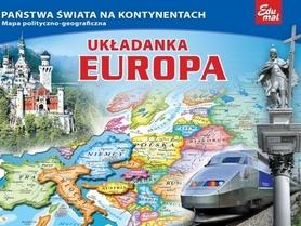 EUROPA puzzle układanka EDUMAL
