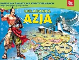 AZJA puzzle układanka EDUMAL