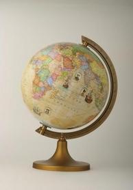 Globus 250mm trasami odkrywców podświetlany GŁOWALA nr 2014