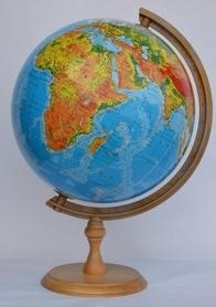 Globus 320mm fizyczny GŁOWALA 0225