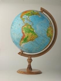Globus 320mm fizyczny podświetlany GŁOWALA 2519