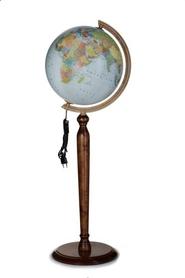Globus 320 polityczno/fiz podświetlany wysoka stopka GŁOWALA 3219