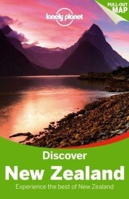 NOWA ZELANDIA DISCOVER przewodnik LONELY PLANET