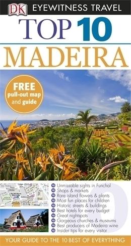MADEIRA MADERA przewodnik TOP 10 DK