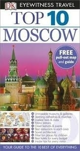 MOSCOW MOSKWA przewodnik TOP 10 DK