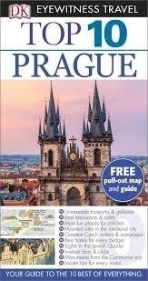 PRAGA PRAGUE przewodnik TOP 10 DK 2015