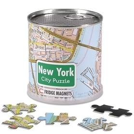 NOWY JORK CITY PUZZLE MAGNETS