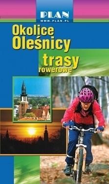OKOLICE OLEŚNICY trasy rowerowe PLAN