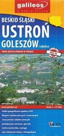 BESKID ŚLĄSKI USTROŃ GOLESZÓW mapa turystyczna PLAN