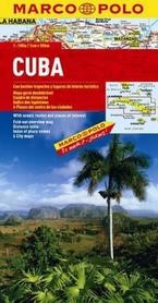 KUBA CUBA mapa samochodowa 1: 000 000 MARCO POLO