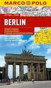 BERLIN laminowany plan miasta 1:15 000 MARCO POLO