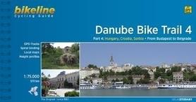 DANUBE BIKE TRAIL 4 atlas rowerowy BIKELINE