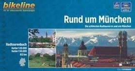RUND UM MUNCHEN atlas rowerowy BIKELINE