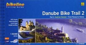 DANUBE BIKE TRAIL 2 atlas rowerowy BIKELINE