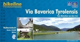 VIA BAVARICA TYROLENSIS atlas rowerowy BIKELINE