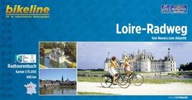 LOIRE RADWEG atlas rowerowy BIKELINE
