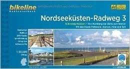 NORDSEEKUSTEN RADWEG 3 atlas rowerowy BIKELINE