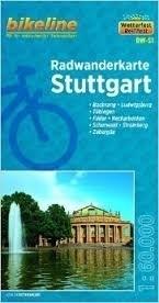 STUTTGART mapa rowerowa BIKELINE
