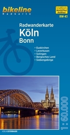 KOLN BONN mapa rowerowa BIKELINE
