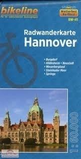 HANNOVER mapa rowerowa BIKELINE