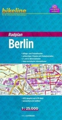 BERLIN mapa rowerowa BIKELINE