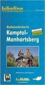 KAMPTAL-MANHARTSBER mapa rowerowa BIKELINE