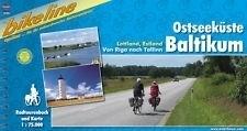 OSTSEEKUSTE BALTIKUM atlas rowerowy BIKELINE