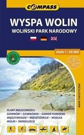 WYSPA WOLIN mapa turystyczna 1:50 000 COMPASS 2015