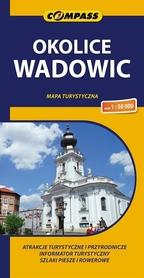 OKOLICE WADOWIC mapa turystyczna 1:50 000 COMPASS