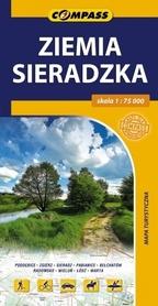 ZIEMIA SIERADZKA mapa turystyczna 1:75 000 COMPASS 2015