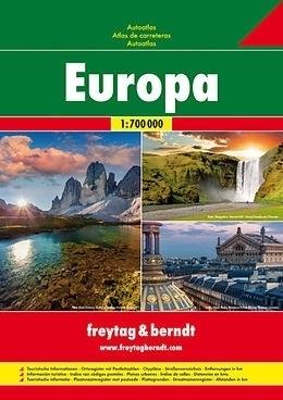 EUROPA atlas samochodowy 1:700 000 FREYTAG & BRENDT 2015