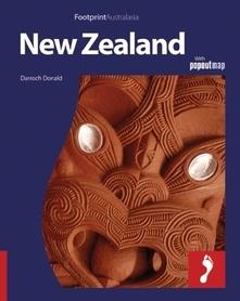 NOWA ZELANDIA  przewodnik FOOTPRINT + POPOUTMAP