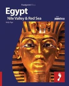 EGIPT DOLINA NILU MORZE CZERWONE przewodnik FOOTPRINT + POPOUTMAP