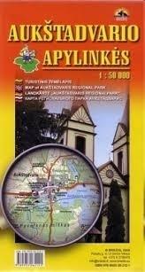 WYSOKI DWÓR mapa TURYSTYCZNA 1:50 000 BRIEDIS