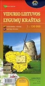 REGION LITEWSKI mapa turystyczna 1:130 000 BRIEDIS
