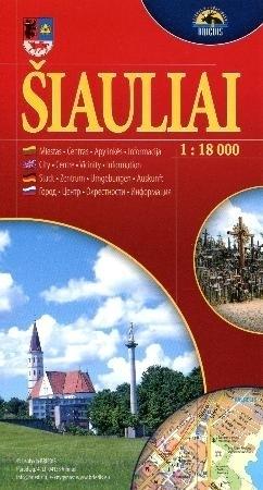 SIAULIAI  mapa turystyczna 1:18 000 BRIEDIS